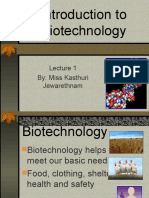 Introduction to Biotechnology (1)