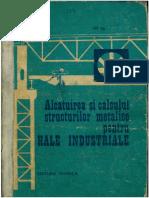 Alcatuirea Si Calculul Structurilor Metalice Pentru HALE INDUSTRIALE