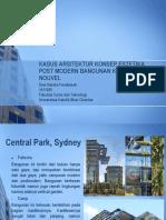 Kasus Arsitektur Konsep Estetika Post Modern Bangunan Karya