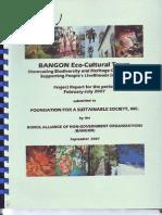 BANGON Eco-Cultural Tours