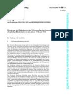 Εισηγητική έκθεση στο Γερμανικό κοινοβούλιο για τις Γενοκτονίες