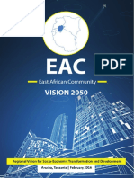EAC East African Community Vision 2050