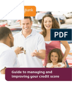 Guide to Managing and Improving Your Credit Score