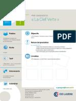 Brochure Clef Verte