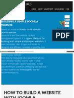 Websitesetup Org Build Website With Joomla
