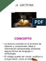 La Lectura, El Lector, Comprension Lectora