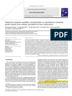 2011-Functional Composite Nanofibers of Poly(Lactide–Co-caprolactone) Containing Gelatin–Apatite Bone Mimetic Precipitate for Bone Regeneration