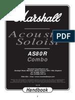 marshal as-80r manual
