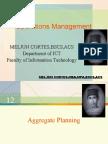 MELJUN CORTES - Operations Management 12th Lecture (PLANNING HORIZON)