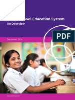Indian School Education System - An Overview 1