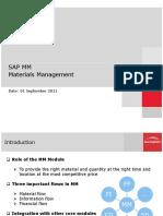 Material Management - SAP - Presentation_ASE