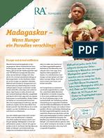 ADRA kompakt 2/2016 - Madagaskar - Wenn Hunger ein Paradies verschlingt