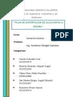 Trabajo Final de Exportacion de Alcachofas
