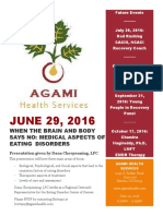 Educational Series at Agami Health