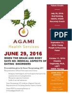 Educational Series at Agami Health