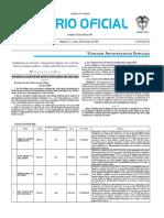 Diario oficial de Colombia n° 49.889. 30 de mayo de 2016