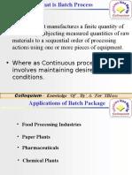 Batch Process Concepts