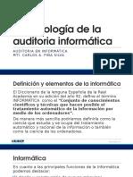 1. Terminología de La Auditoria Informática