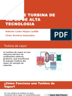 Turbina de Vapor de Alta Tecnologia