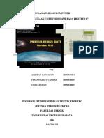 Penggunaan AVR dan Proteus