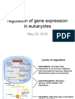 Week9 MonMay23 Regulationgeneexpressioneukaryotes 2016