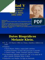 Unidad v Melanie Klein Exploracion Del Inconsciente