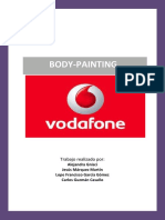 Body Painting Vodafone