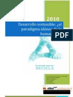 Desarrollo sostenible ensayo