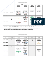 Semester 6 Timetable 25 April 2016 to 10 June 2016 ( Grp C ) Revised 12 May 2016