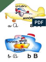 Abecedario Pared