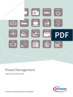 Infineon Power Management Selection Guide 2016