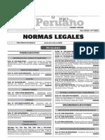 Legislacion Nacional Peru