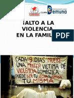 Alto a La Violencia Familiar Mitos EVA