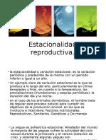 Estacionalidad reproductiva