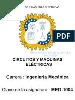 1. Unidad 1 Circuitos y Maquinas Electricas