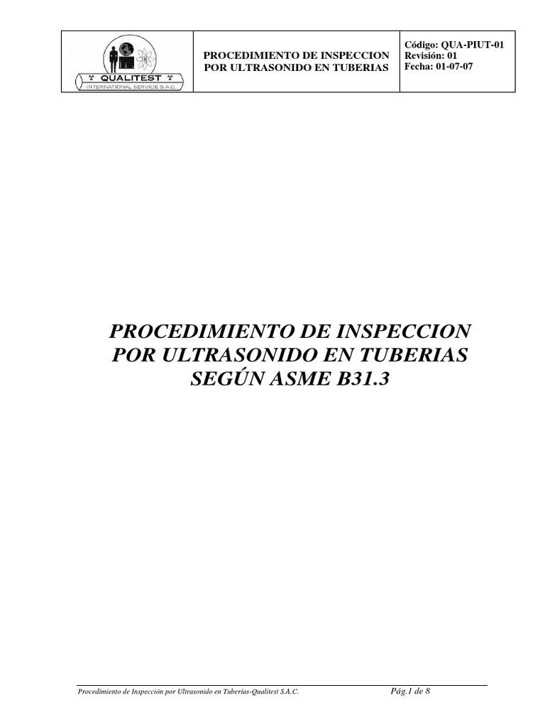 norma asme b31 3 en español pdf gratis
