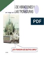 Modelos de Vibraciones y Daño en Tronadura