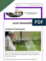 VEJ June Newsletter