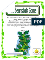 Beanstalk Maths Game A4