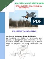 Capitulo i Introduccion Mecanica de Fluidos i