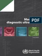 WHO Ultrasound Manual Vol1
