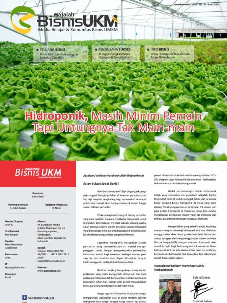 Majalah Bisnisukm Edisi Mei 2016 Produk Ukm Bumn Frozen Tahu Baxo