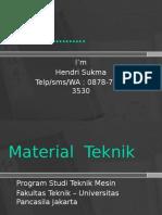 HO-Pendahuluan & Klasifikasi Material