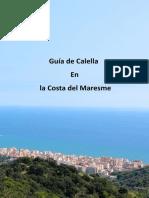 Calella en La Costa Del Maresme de Barcelona