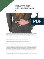 Artigo.a Fraude Diante Dos Controles Internos Da Empresa