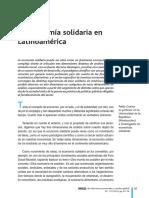 La Economia Solidaria en Latinoamerica p Guerra