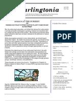 Darlingtonia Newsletter, Fall 2009 ~ North Coast Chapter, California Native Plant Society
