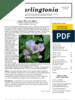 Darlingtonia Newsletter, Summer 2009 ~ North Coast Chapter, California Native Plant Society