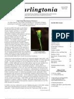 Darlingtonia Newsletter, Spring 2009 ~ North Coast Chapter, California Native Plant Society
