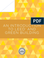 Introduction to Leed and Green Buildings
